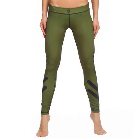 Дамски Клин ZERO FIT Training Tights Olive 511734