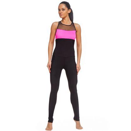 Дамски Спортен Гащеризон ZERO FIT Training Jumpsuit Pink Obsession 511737