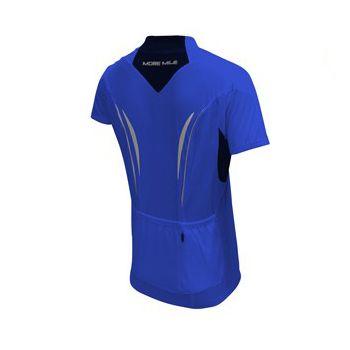 Мъжка Тениска MORE MILE Short Sleeve Mens Cycle Jersey 508397 MM1214 изображение 2