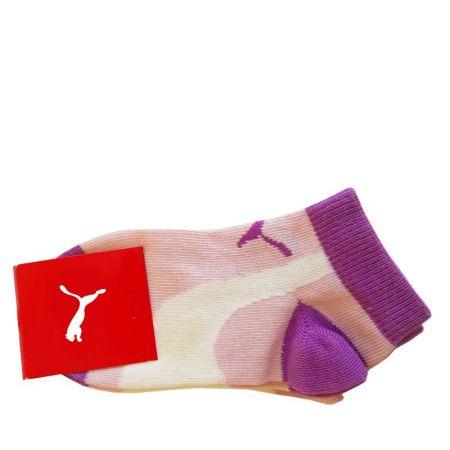 Бебешки Чорапи PUMA Socks 2 Pack Pink Beige 513990 281371-967