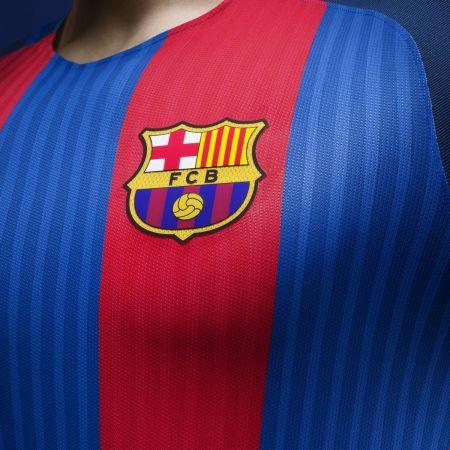Официална Фланелка Барселона BARCELONA Mens Home Shirt 16-17 504131  изображение 7