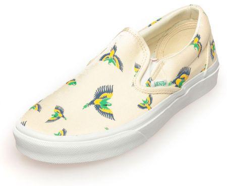 Дамски Обувки VANS Tropical Slip-Ons 503658 VNSF 00002 BEIGE изображение 2