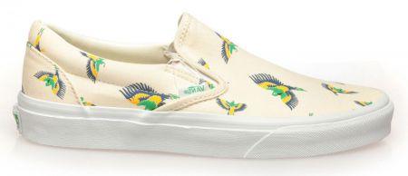 Дамски Обувки VANS Tropical Slip-Ons 503658 VNSF 00002 BEIGE