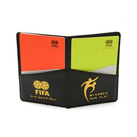 Комплект Съдийски Картони OFFICIAL FIFA Champion Football Referee Cards Set