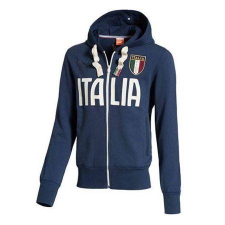 Мъжки Суичър PUMA Figc Italia Zip Tgrough Hoody 101175 74649603