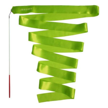 Лента За Художествена Гимнастика MAXIMA Rhythmic Gymnastics Ribbon 6m 502314 200739-Green