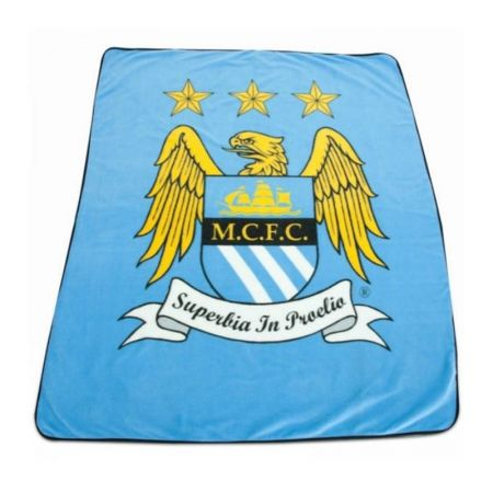 Одеяло MANCHESTER CITY Fleece Blanket BL