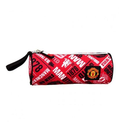 Несесер MANCHESTER UNITED Barrel Pencil Case 504178