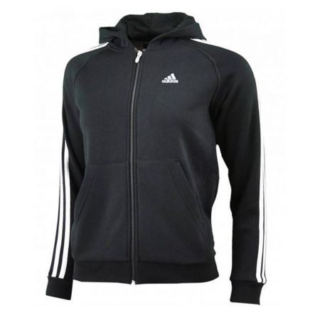 Детски Суичър ADIDAS Essential 3 Stripe Full Zip Hoodie 300320 E15299
