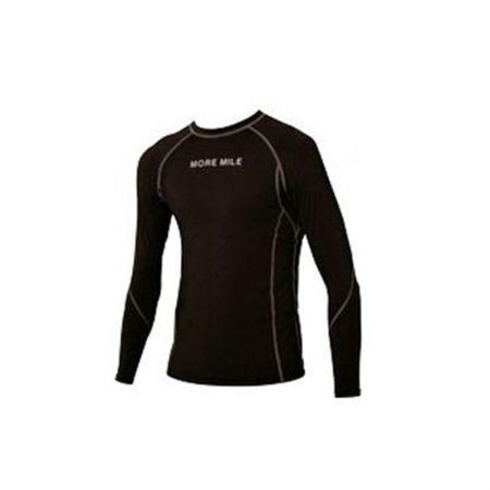 Мъжка Термо Блуза MORE MILE Seal Long Sleeve Compression Mens Running Top 508421 MM1645