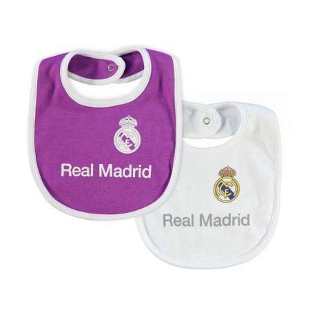 Комплект Лигавници REAL MADRID 2pk Baby Bibs