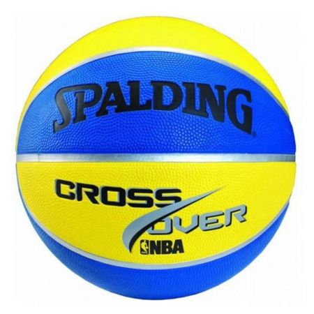 Баскетболна Топка SPALDING Cross Over Color Rubber 400970