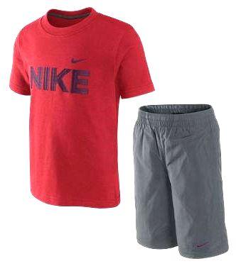 Детски Спортен Екип NIKE Tee/Short Set 300081 449875-636-Ивко изображение 2