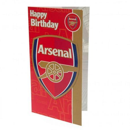 Картичка ARSENAL Birthday Card 500728a w10carar-z01carar