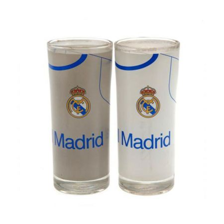 Чаши REAL MADRID 2Pk High Glass Set