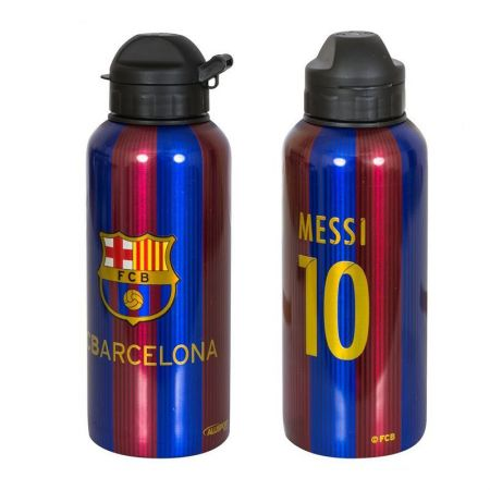 Бутилка BARCELONA Aluminium Drinks Bottle Messi 10 507035