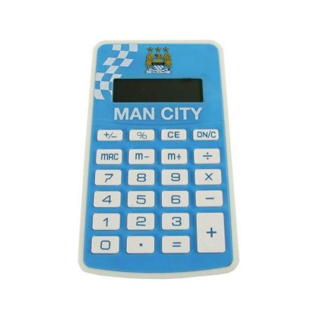 Калкулатор MANCHESTER CITY Pocket Calculator 501087 c50calmc