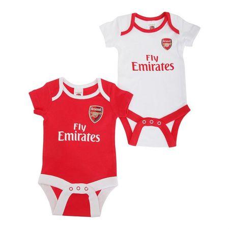 Бебешки Дрехи ARSENAL 2 Pack Bodysuit 501202a
