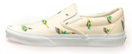 Дамски Обувки VANS Tropical Slip-Ons 503658 VNSF 00002 BEIGE изображение 3