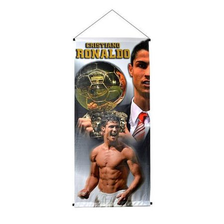 Флаг REAL MADRID Cristiano Ronaldo Big Pennant 501340 9966