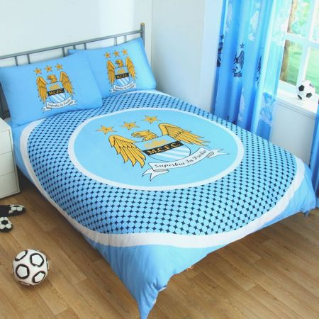 Спално Бельо MANCHESTER CITY Reversible Double Duvet Set BE 504235 11142-h05ddumcbe