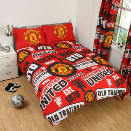 Спално Бельо MANCHESTER UNITED Double Duvet Set PT 500286a 12071