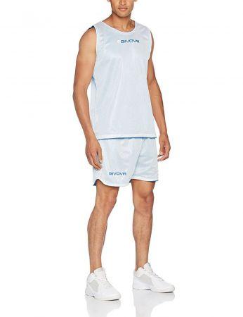 Двулицев Баскетболен Екип GIVOVA Kit Double 0403 504763 kitb03 изображение 4
