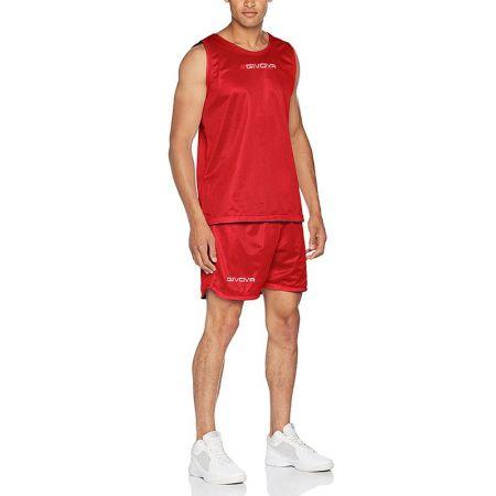 Двулицев Баскетболен Екип GIVOVA Kit Double 0412 505420 kitb03