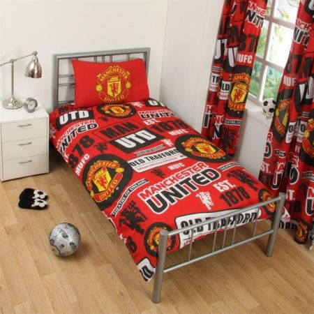 Спално Бельо MANCHESTER UNITED Single Duvet Set PT