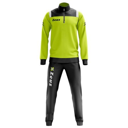 Детски Анцуг ZEUS Tuta Training Vesuvio Nero/Giallo Fluo 513763 Tuta Training Vesuvio