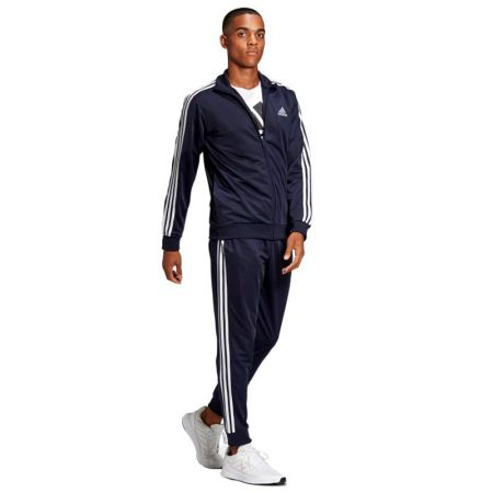 Мъжки Анцуг ADIDAS Primegreen Essentials 3-Stripes Tracksuit 518691 GK9658-K