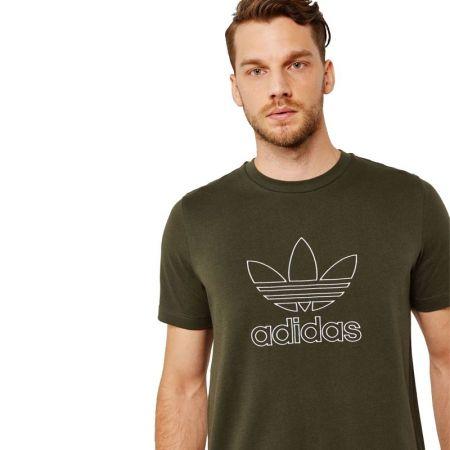 Мъжка Тениска ADIDAS Originals Outline T-Shirt 516563 DH5785 изображение 2