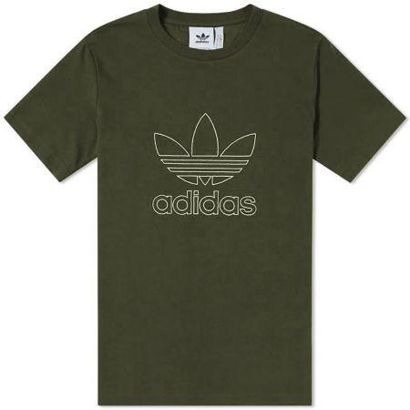 Мъжка Тениска ADIDAS Originals Outline T-Shirt 516563 DH5785 изображение 5