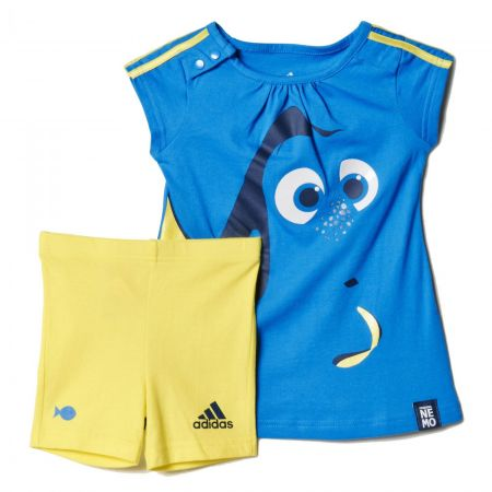 14e9ddcff73 ... Бебешки Спортен Екип ADIDAS Disney Dory Summer Set 509840 AK2542