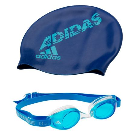 Детски Плувен Комплект ADIDAS Kids Swimming Glasses And Cap Package 502282