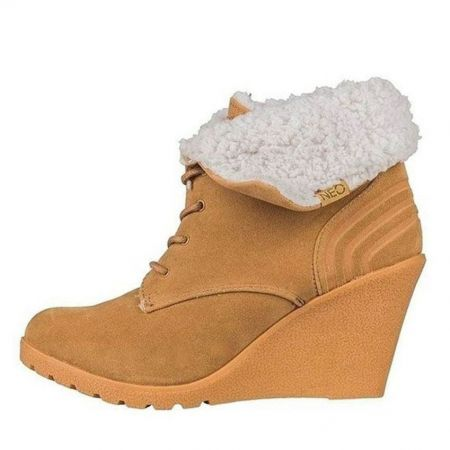 Дамски Боти ADIDAS Neo Chill Wedge Boots 511582 F98112 изображение 2