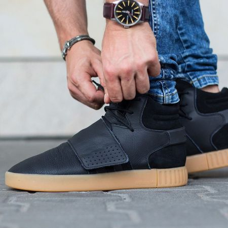 Мъжки Кецове ADIDAS Tubular Invader Strap 513745 BY3630 изображение 9