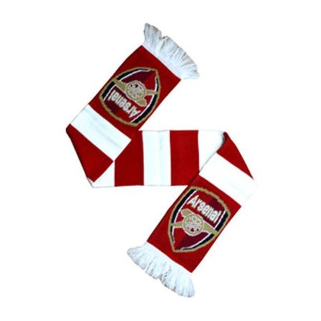 Шал ARSENAL Zebra Bar Scarf
