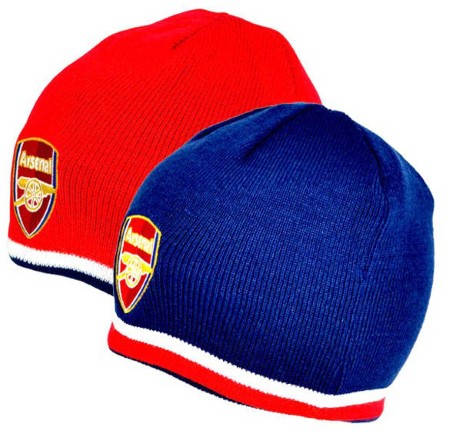 Двулицева Зимна Шапка ARSENAL Reversible Knitted Hat 501459 9146 изображение 2