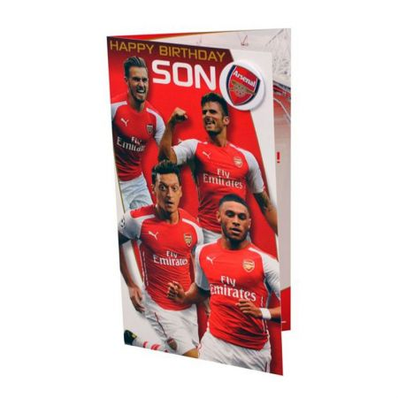 Картичка ARSENAL Son Birthday Card 504107 12720