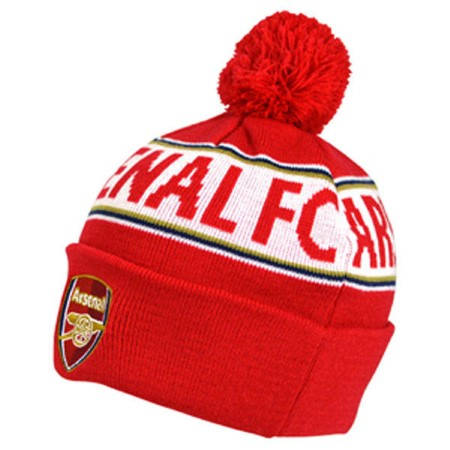 Зимна Шапка ARSENAL Text Cuff Knitted Hat 501463 9049-v40skiarn