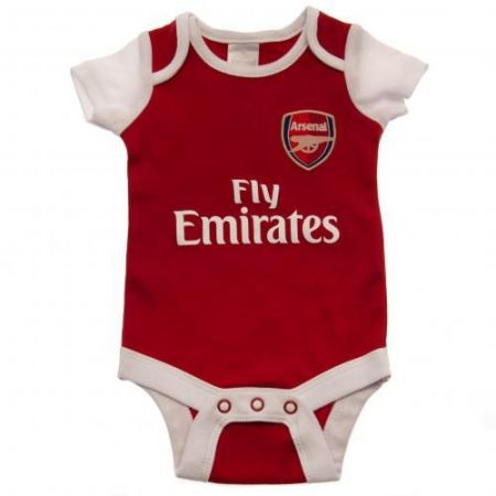 Бебешки Дрехи ARSENAL 2 Pack Bodysuit 500800a s10bdsarsnrf изображение 3