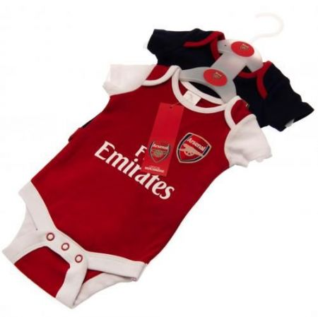 Бебешки Дрехи ARSENAL 2 Pack Bodysuit 500800a s10bdsarsnrf изображение 4