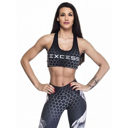 Дамско Бюстие EX FIT Sports Bra Black Wings 509526