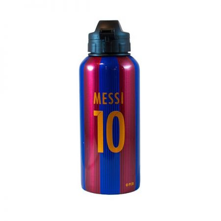 Бутилка BARCELONA Aluminium Water Bottle Messi 10 507035 14703-e25alubam изображение 2