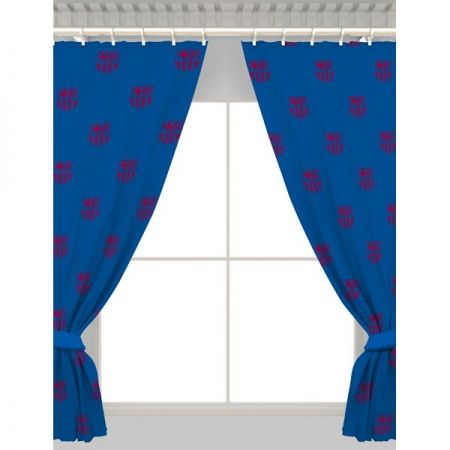 Пердета BARCELONA Repeat Crest Curtains 54 Inch 504160 13757
