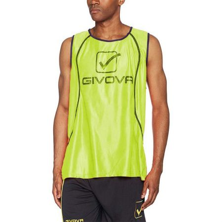 Мъжки Тренировъчен Потник GIVOVA Casacca Fluo Sponsor 0019