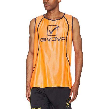 Мъжки Тренировъчен Потник GIVOVA Casacca Fluo Sponsor 0028