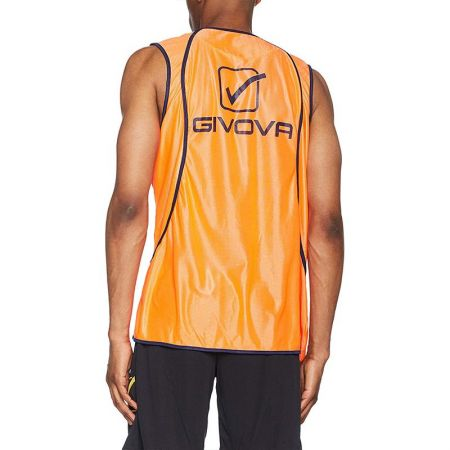 Мъжки Тренировъчен Потник GIVOVA Casacca Fluo Sponsor 0028 504936 ct08 изображение 2