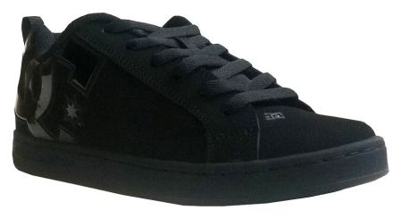 Детски Кецове DC Court Graffik SE Shoes 503643 DC 00001 BLACK изображение 2